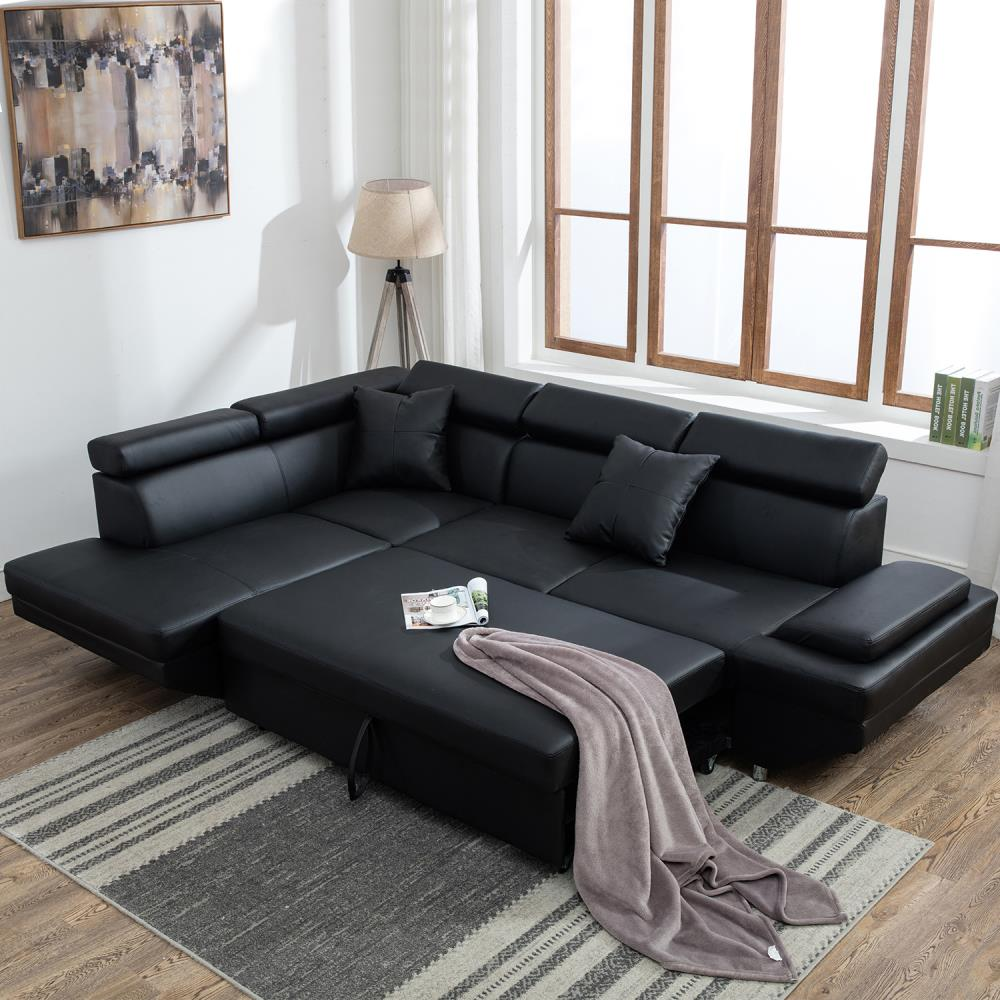 flexsteel-sectional-sleeper-sofa-1