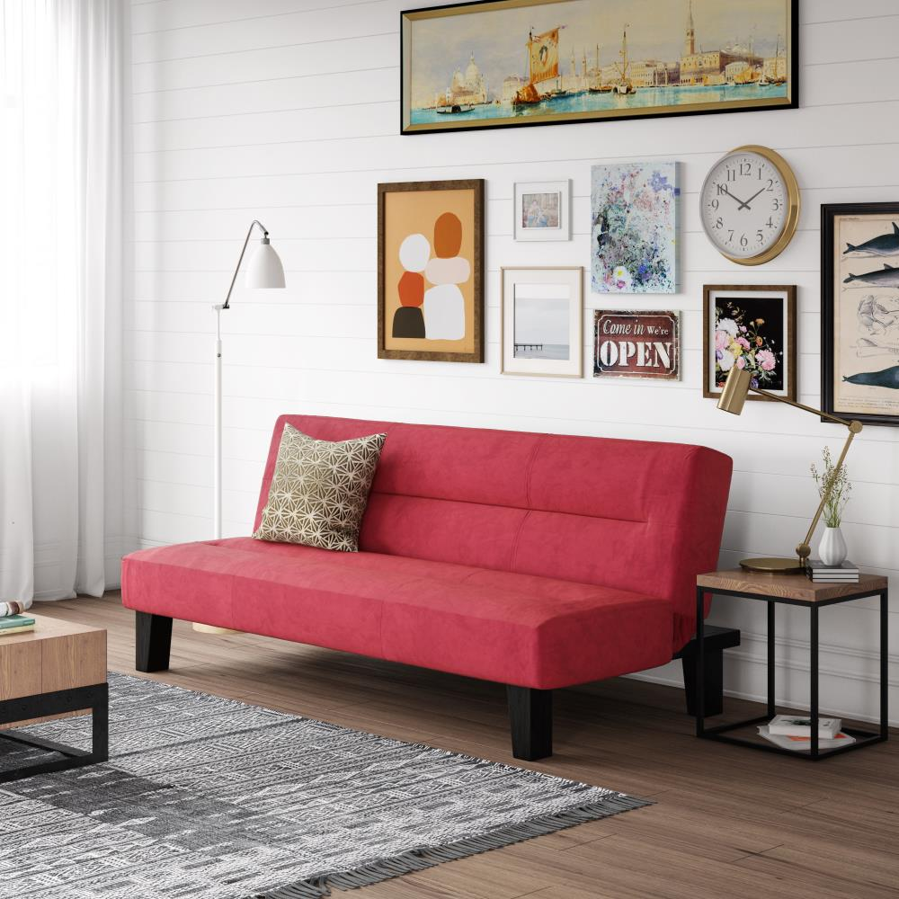 red-leather-sleeper-sofa-sale